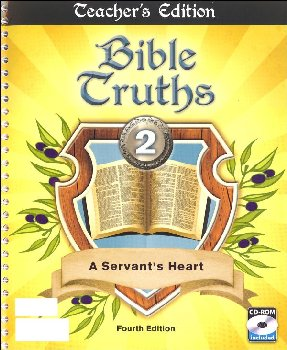 Bible Truths 2 Teacher Edition 4th Edition