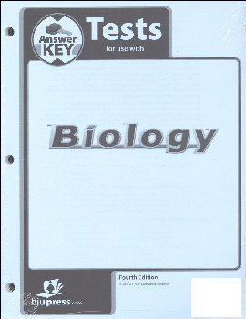 Biology Tests Answer Key 4th Edition