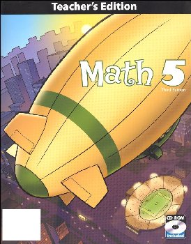 Math 5 Teacher Book & CD 3ED