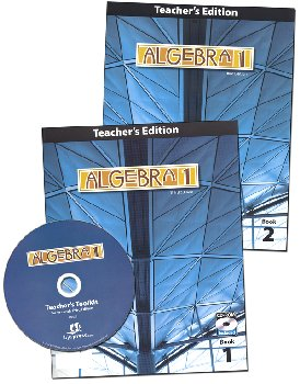 Algebra 1 Teacher Edition with CD 3rd Edition
