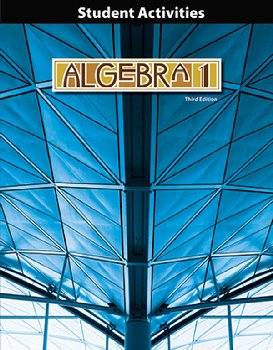 Algebra 1 Student Activities 3rd Edition