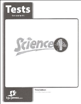 Science 1 Testpack 3rd Edition