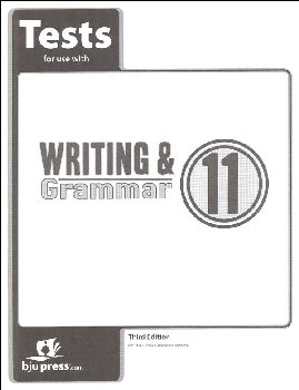 Writing/Grammar 11 Testpack 3rd Edition