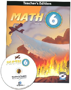 Math 6 Teacher Edition with CD 3rd Edition