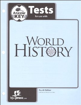 World History Tests Answer Key 4th Edition