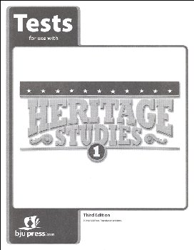 Heritage Studies 1 Tests 3rd Edition