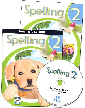 Spelling 2 Home School Kit 2nd Edition