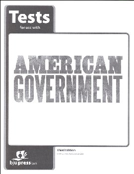 American Government Tests 3rd Edition