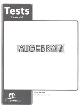 Algebra 2 Test 3rd Edition