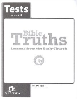 Bible Truths C Tests 4th Edition