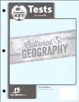 Cultural Geography Tests Answer Key 4th Edition