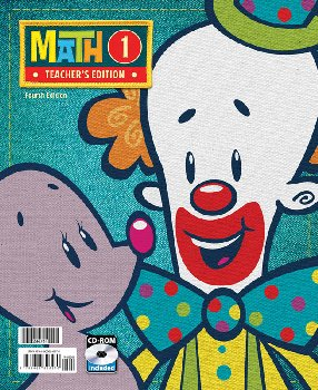 Math 1 Home Teacher Edition Book & CD 4th Edition