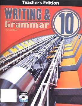 Writing/Grammar 10 Teacher Book & CD 4th Edition