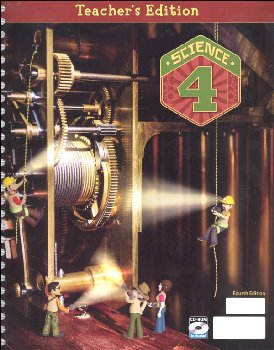 Science 4 Teacher's Edition Book & CD 4th Edition