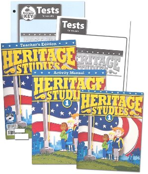 Heritage Studies 1 Home School Kit 3rd Edition (New)