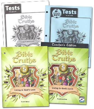 Bible Truths 5 Home School Kit 4th Edition