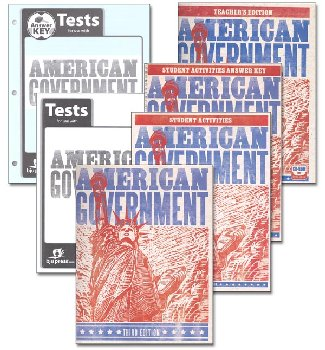 American Government Home School Kit 3rd Edition