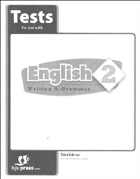 Writing/Grammar 2 Testpack 3rd Edition