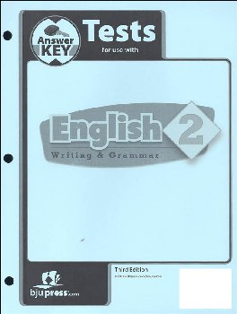 Writing/Grammar 2 Testpack Key 3rd Edition