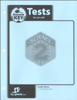 Science 2 Testpack Answer Key 4th Edition