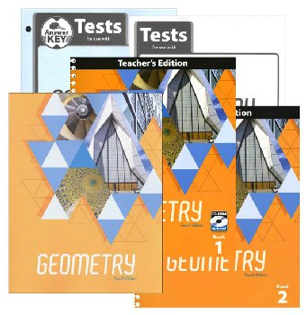 Geometry Home School Kit 4th Edition