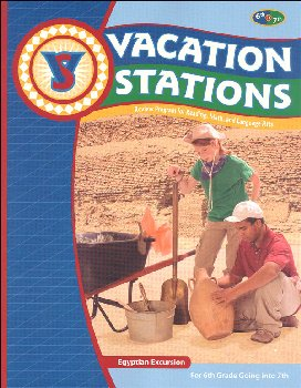 Egyptian Excursion Vacation Station - c/u
