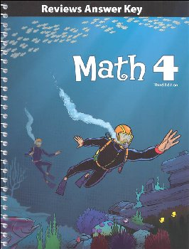 Math 4 Reviews Key 3rd Edition