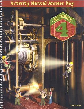 Science 4 Student Activity Manual Answer Key 4th Edition