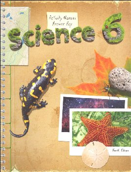 Science 6 Student Acty Manual Answer Key 4ED