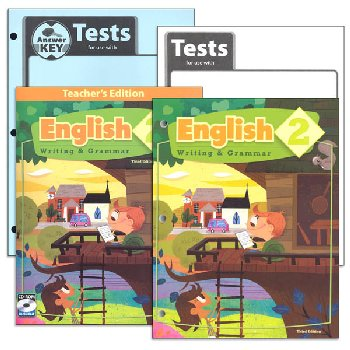 English 2 Home School Kit 3rd Edition