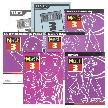 Math 3 Home School Kit 3rd Edition (updated)