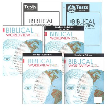 Biblical Worldview Home School Kit (King James Version)