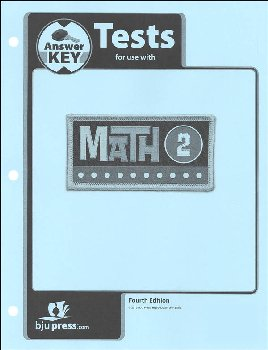 Math 2 Tests Answer Key 4th Edition - copyright update