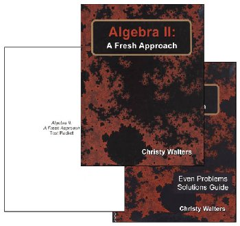 Algebra II: A Fresh Approach Set