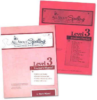 All About Spelling Level 3 Materials