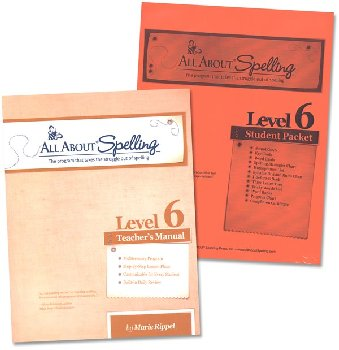 All About Spelling Level 6 Materials