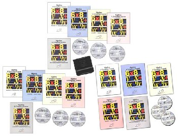 Algebra Modules A,B,C Set - DVD