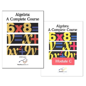 Algebra Modules B & C Set - DVD