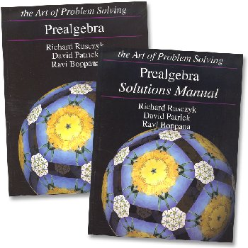 Art of Problem Solving Prealgebra Set