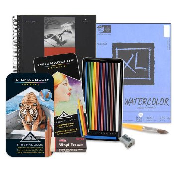 Artistic Pursuits Grades 4-5 Book 2 (3rd Edition) Art Supply Bundle