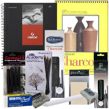Artistic Pursuits High School Book 1 (3rd Edition) Art Supply Bundle
