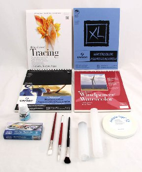 Artistic Pursuits High School Book 2 (3rd Edition) Art Supply Bundle