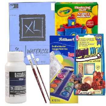 ARTistic Pursuits K-3 V6 Art Supply Bundle