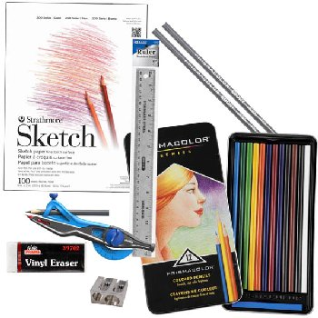 ARTistic Pursuits K-3 Volume 8 Art Supply Bundle