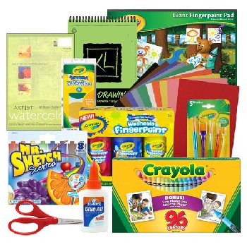 Artistic Pursuits Preschool (3rd Edition) Art Supply Bundle