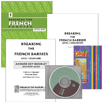 Breaking the French Barrier Level 1 (Beginning) Homeschool Package