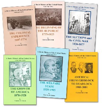 Basic History of the United States Volumes 1-6