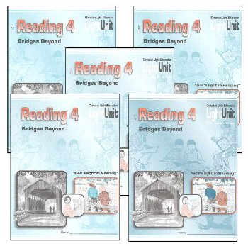 Bridges Beyond Reading 4 LightUnits Only Set Sunrise 2nd Edition