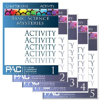 Basic Science Mysteries Activities Package (Chapters 1-5)