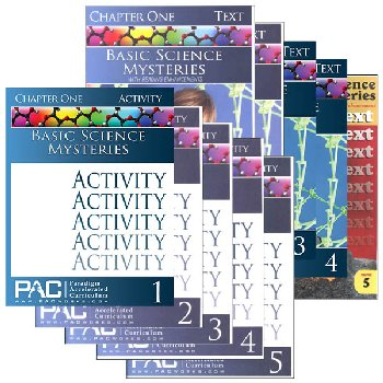 Basic Science Mysteries Text & Activities Package (Chapters 1-5)